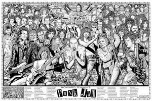 Image of Punk Jam Poster by: Howard Teman