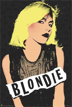 """Blondie Poster - 24"""" X 36"""""""