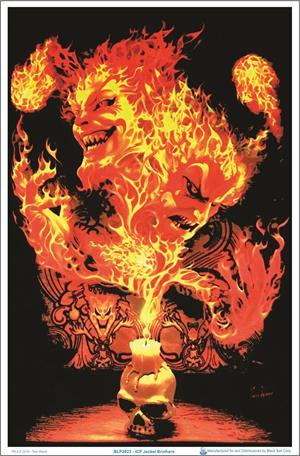 "ICP Jeckel Brothers Blacklight Poster - 23"" X 35"""