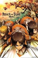 Attack On Titan - Attack Poster - 23