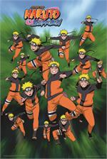 Naruto Shadow Clones Poster - 24