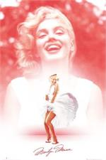 Marilyn Monroe - Pink Dress Smile Poster - 24
