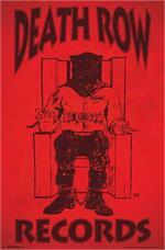 Death Row Records - 22.375'' x 34''