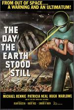 Image of The Day The Earth Stood Still Movie Poster