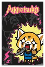 Aggretsuko - Rock Out Poster - 22.375'' x 34''