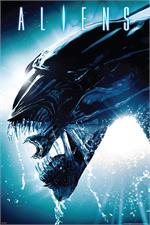 Aliens  Side Splash Poster - 24