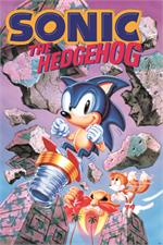 Sonic the Hedgehog  Break Through Rocks Poster - 24