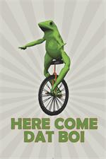 Here Come Dat Boi Poster - 24