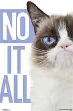 Grumpy Cat Poster - 22.375'' x 34