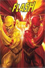 The Flash vs Reverse Flash Poster - 22.375