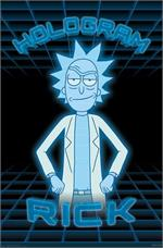 Rick and Morty - Hologram Poster - 22.375