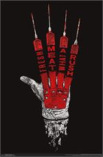 Nightmare on Elm Street - Hand Poster - 22.375