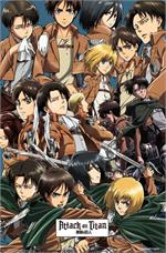 Attack on Titan - Collage Poster - 22.375