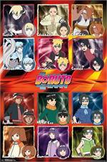 Boruto Naruto Next Generations - Grid Poster - 22.375
