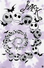 Tim Burton's Nightmare Before Christmas - Spiral Poster - 22.375