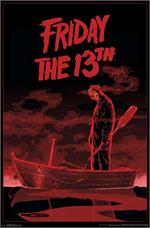 Friday the 13th - Boat Poster - 22.375