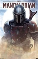 Star Wars: The Mandalorian - Battle Poster - 22.375