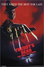 A Nightmare on Elm Street - Freddy's Dead Poster - 22.375