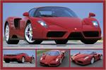 Tribute to Enzo Ferrari Poster - 24