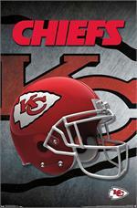 NFL Kansas City Chiefs - Helmet Poster - 22.375