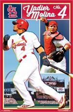 MLB St. Louis Cardinals - Yadier Molina Poster - 22.375