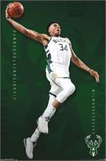 NBA Milwaukee Bucks - Giannis Antetokounmpo Poster - 22.375