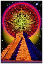 Mayan - Non-Flocked Blacklight Poster Image