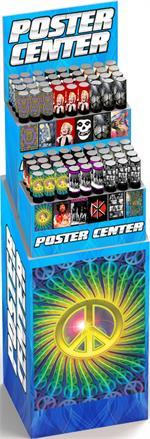 POSTER CENTER - 12 Styles/12 Bin