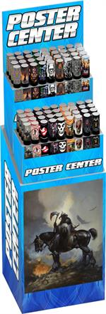 POSTER CENTER - 18 Styles/18 Bin