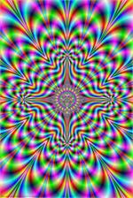 PSYCHEDELIC PULSE POSTER - 24