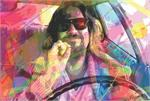 THE DUDE POSTER BY: DAVID LLOYD GLOVER - 24