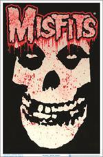 Misfits Splatter Black Light Poster - 23