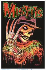 Misfits Nightmare Fiend Black Light Poster - 23