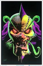 "Insane Clown Posse (ICP) Link Duality by Tom Wood Blacklight Poster 23"" x 35"""