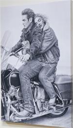 Speedbound - Marilyn Monroe & James Dean Canvas Print