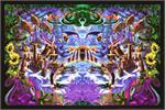 Octopus Garden by: Richard Biffle - Non Flocked Blacklight Poster Image