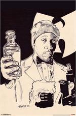 Wu Tang Clan Illustrated Poster - 23