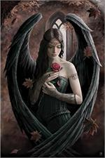 ANGEL ROSE - ANNE STOKES - POSTER - 24
