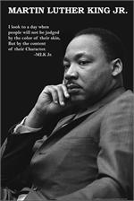 MARTIN LUTHER KING - CHARACTER POSTER - 24