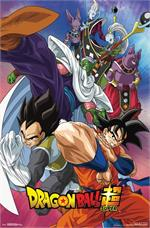 Dragon Ball Super - Group Poster 22.375'' x 34''