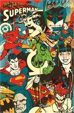 DC Comics Justice League - Throwback Poster - 23'' X 34''