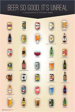 BEER SO GOOD, IT'S UNREAL POSTER - 24