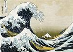 GREAT WAVE GIANT POSTER - 5' X 3.5'