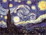 VINCENT VAN GOGH STARRY NIGHT GIANT POSTER
