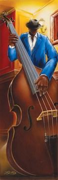 Jazz III Bass Slim Print by: Magrini - 12