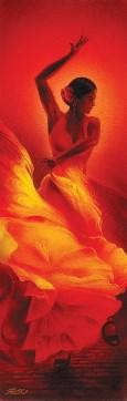 Flamenco Slim Print by: Magrini - 12