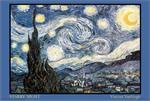 VINCENT VAN GOGH STARRY NIGHT POSTER - 36