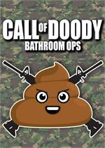 Call Of Doody Tin Sign - 8 1/2