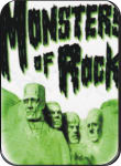 MONSTERS OF ROCK  - MINI STICKER - 2