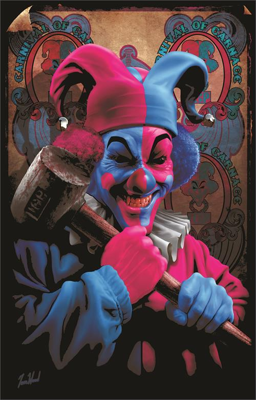 ICP Carnage by Tom Wolf Black Light Poster - 23